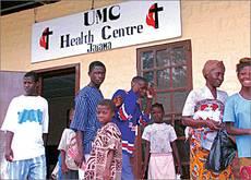Gesundheitsstation Jaiama