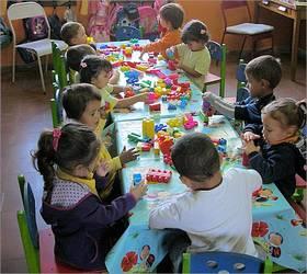 In der Kindertagesstätte