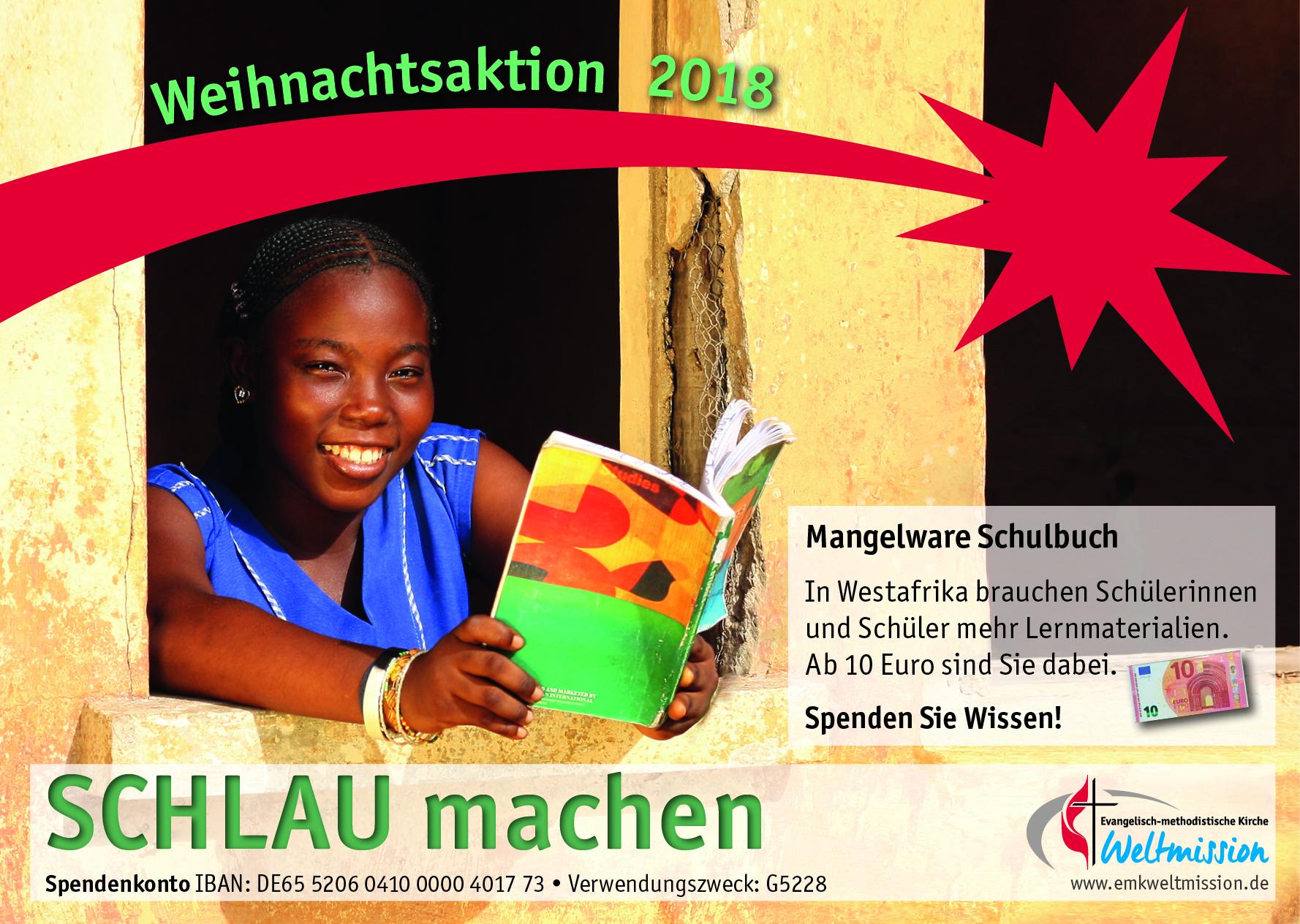 Werbematerial für die Weihnachtsaktion 2018: Weltmission der ...